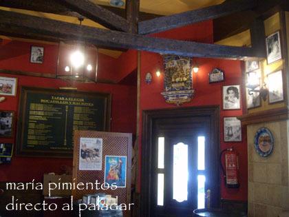 la Patrona, local