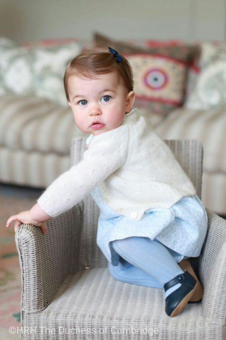 Princesa Charlotte Cambridge Retratos Cumpleanos 2016 2