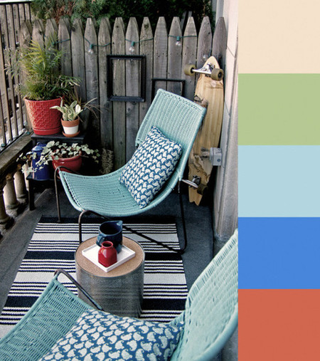 Color en la terraza 3