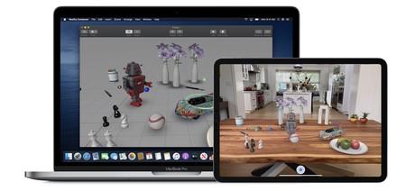 Reality Composer en Mac y iPad