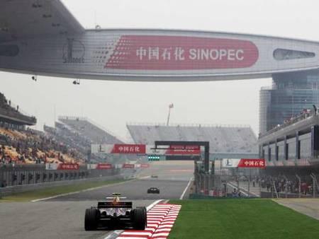 Los horarios del Gran Premio de China