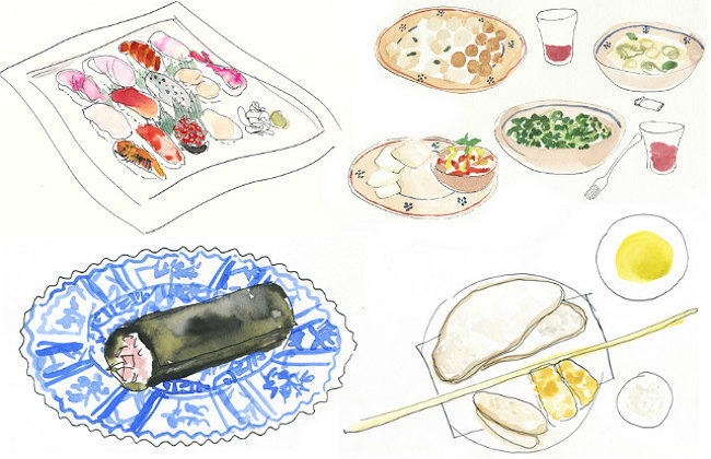 Ilustraciones gastronómicas de Gattobravo