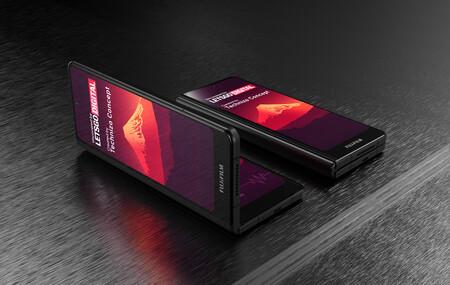 Fujfilim está pensando introducirse en el mercado de móviles con un smartphone plegable (dice LetsGoDigital)
