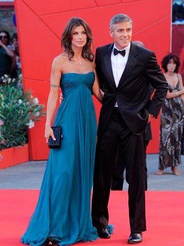 """Elisabetta Canalis se queda a gusto: """"George ha sido como un padre para mí"""""""