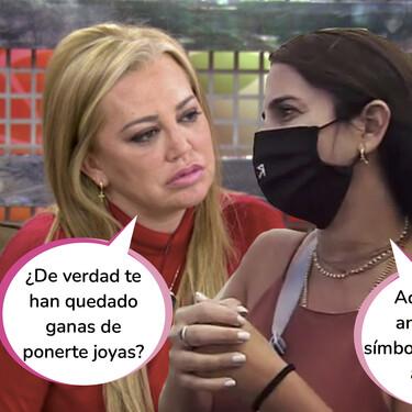 Así han resuelto Belén Esteban y Anabel Pantoja su conflicto por las joyas en 'Sálvame'
