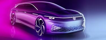 La familia ID. crece con el Volkswagen Space Vizzion, una vagoneta de corte deportivo