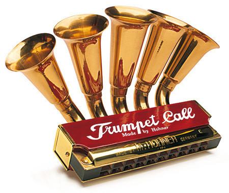Trumpet Call, la harmónica trompeta