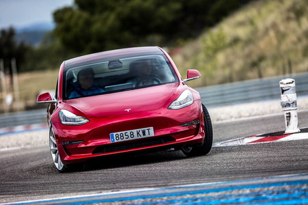 Tesla Model 3 Performance Track Mode 148