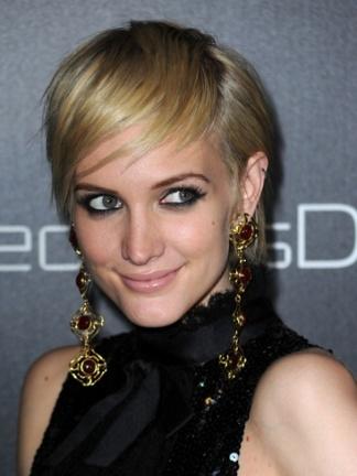 El nuevo look pixie de Ashlee Simpson-Wentz