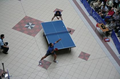 Tenis de mesa, sex-appeal, deporte y espectáculo