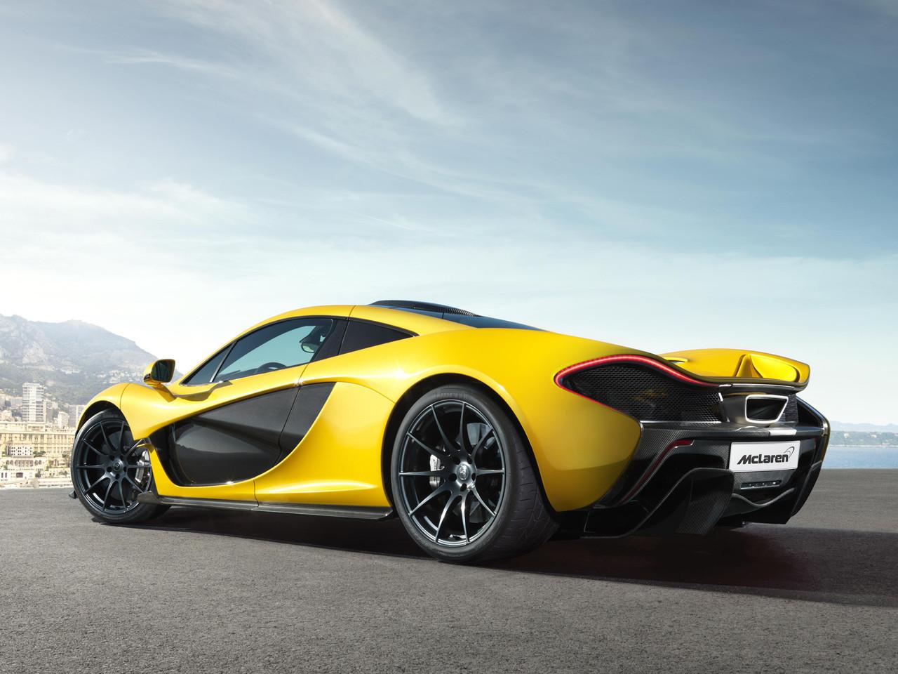 Foto de McLaren P1 amarillo (5/9)