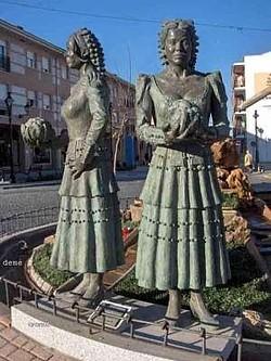 Monumento y homenaje a la coliflor