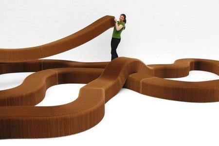 Asientos flexibles de Molo Design