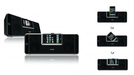 Logic3 lanza unos nuevos altavoces+dock para el iPhone/iPod touch