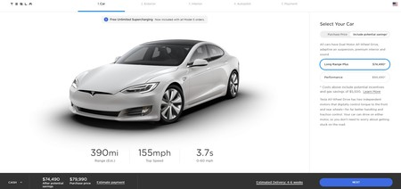 Tesla Model S Mas Autonomia