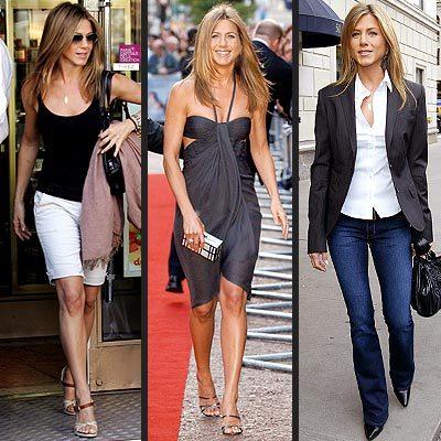 El impecable estilo de Jennifer Aniston