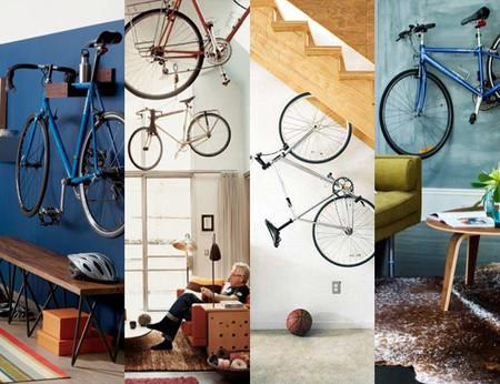 Cuatro ejemplos de interiores en los que la bicicleta es la protagonista