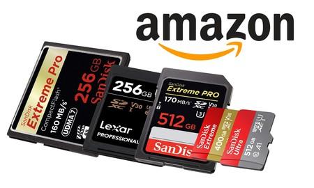 MicroSD, SD y Compact Flash... 18 tarjetas de memoria de todo tipo rebajadas en Amazon