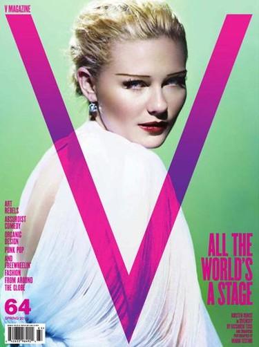 Kirsten Dunst, muy vintage, vuelve a las revistas de la mano de V Magazine