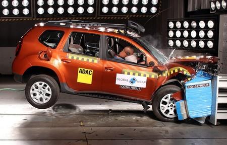 En India tener airbag es un extra: ni una estrella Global NCAP para el Dacia Duster en su versión básica
