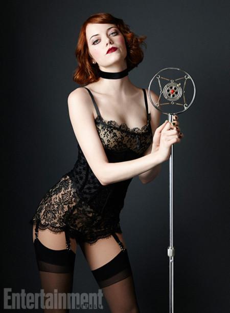 Emma Stone Cabaret Broadway 2014