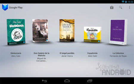 Google Play Books para tablets Android