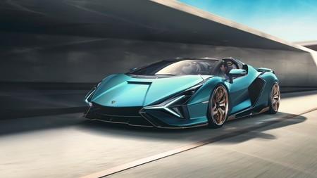 Lamborghini Sian Roadster 2020 012