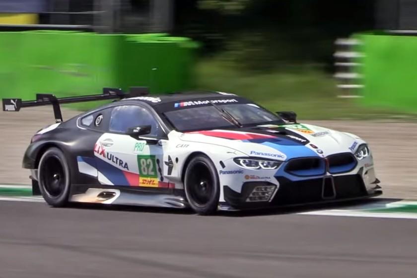 ¡Glorioso! Aquí tienes 11 minutos de melodía atronadora cortesía del BMW M8 GTE y su V8 de 500 CV