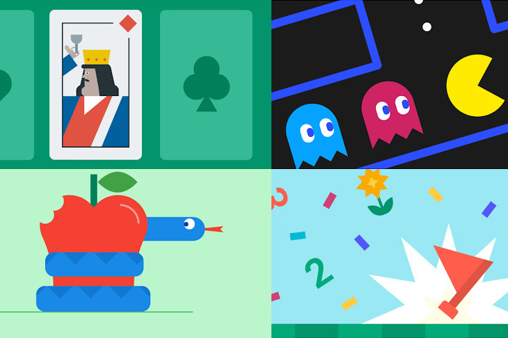 The seven integrated Google games that come on your Android