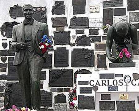 Carlos Gardel en la Chacarita