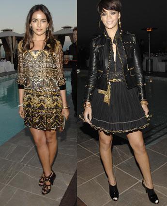 Camille Belle y Rihanna de fiesta con Gucci