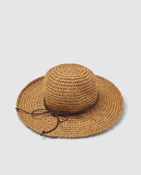 Sombrero De Mujer Southern Cotton De Papel En Natural