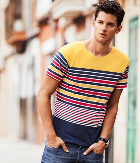 Camiseta rayas H&M Primavera 2013