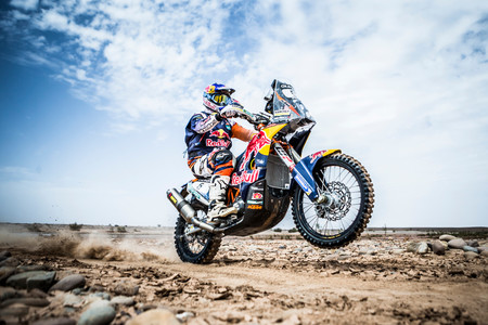 Toby Price Rally Marruecos Ktm 2016