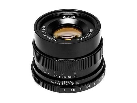 7Artisans 35 mm. f/2 para Sony E, Fujifilm X y Canon EOS M