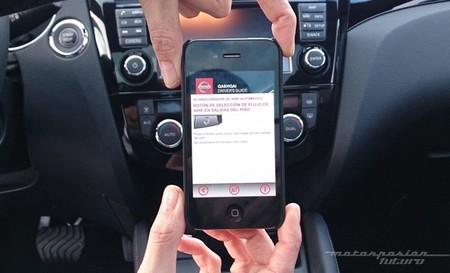 Manual de instrucciones Nissan en el smartphone 03