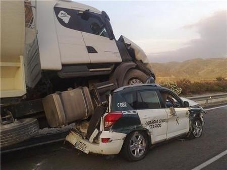 Camionero contra la Guardia Civil