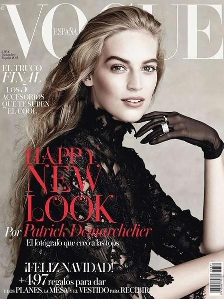 Vogue España: Vanessa Axente