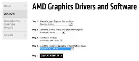 Tarjeta gráfica drivers