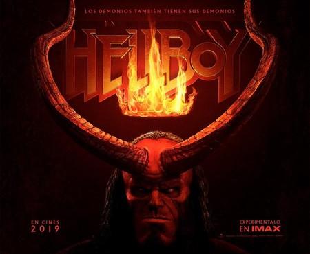 El reboot de 'Hellboy' presenta su nuevo póster como aperitivo para el esperado tráiler