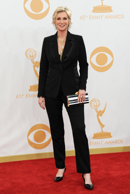 Jane Lynch zapato Emmy 2013