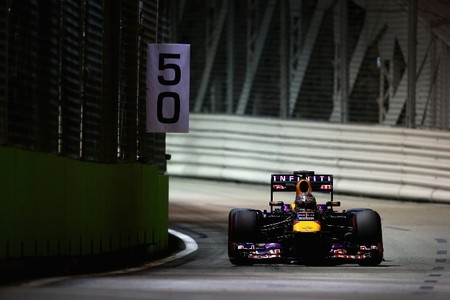 Sebastian Vettel está en otro nivel. Nueva pole en Singapur