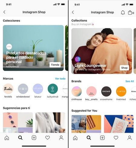 Instagram Shop