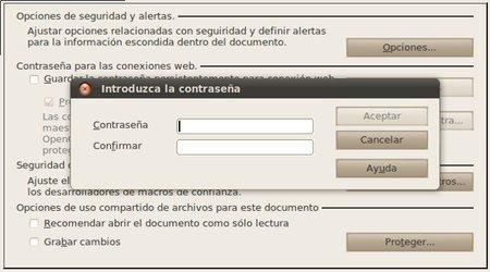 Proteger de documentos con contraseñas