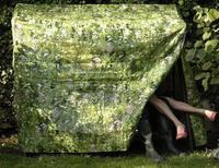 Camuflaje para los muebles de jardín
