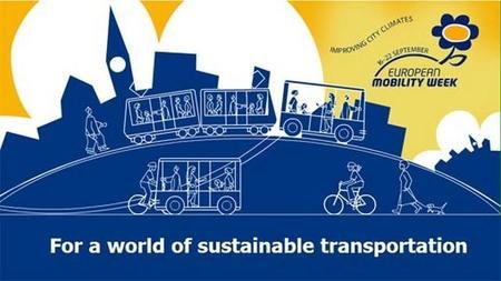 """Comienza la """"Semana de la Movilidad Sostenible"""", con la participación de 368 ciudades españolas"""