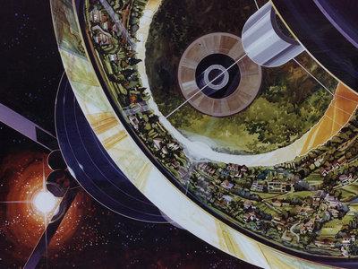 El futuro según los años 70: las increíbles estaciones espaciales que la NASA imaginó hace cuarenta años