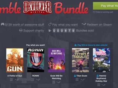 El Humble Bundle de la semana nos trae buenos juegos de Devolver Digital