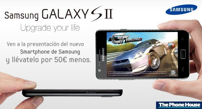 evento samsung y the phone house