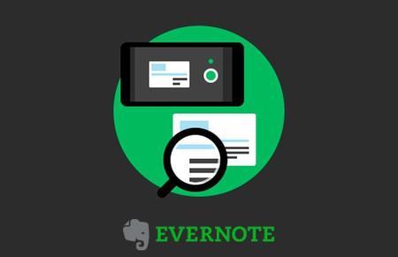 Evernote para Android ahora permite escanear tarjetas de negocios